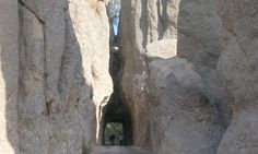 The Needles is a fascinating scenic drive in South Dakota.  The rock tunnels literally rock! =)