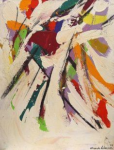 "Alexander Liberman:  ""Untitled Abstract 1977"""