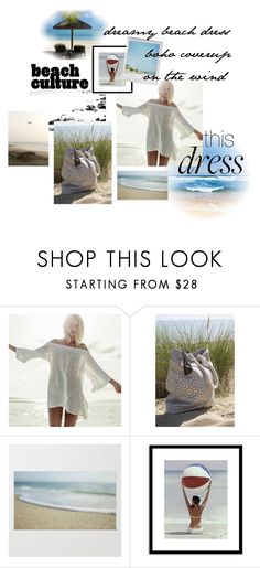 """""""boho on the wind"""" by caroline-buster-brown ❤ liked on Polyvore featuring Billabong, Home Decorators Collection, Polaroid and dreamydresses"""