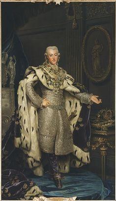 Gustav III, 1746-1792, King of Sweden by Alexander Roslin, 1777. Nationalmuseum Sweden, CC BY-SA