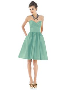 I am curiously attracted to Mint for wedding colors! :)