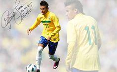 Neymar Brazil Desktop Wallpaper