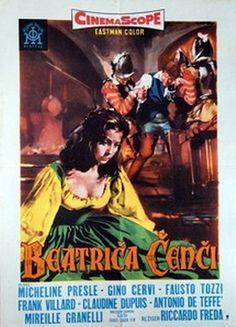 "Castle of the Banned Lovers (1956) ""Beatrice Cenci"" (original title) Stars: Micheline Presle, Gino Cervi, Fausto Tozzi, Anthony Steffen, Mireille Granelli ~ Director: Riccardo Freda"