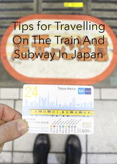 You NEED to save this Pin if you're heading to Japan and want to save money and time on subway and train tickets.