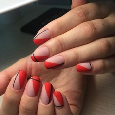 140+ Classic Red Nail Art Designs 2018 (1) #nailart #SummerNails