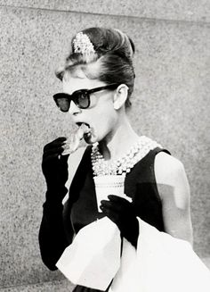 Audrey Hepburn - Breakfast at Tiffany's #celebrities