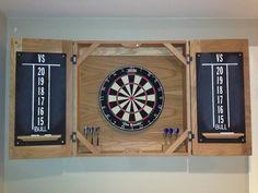 Classic Dart Board Cabinet