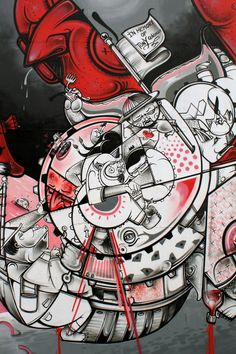 How and Nosm street art #mural #streetart #howandnosm