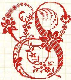 S - Filomena Crochet e Outros Lavores: Abecedário com Arabescos
