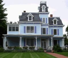 1000 images about second empire on pinterest victorian for Second empire victorian house plans