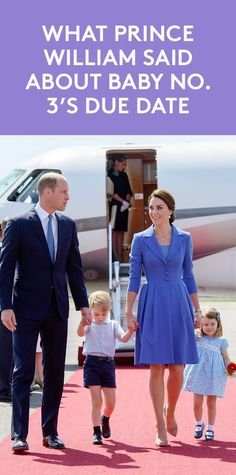"""Prince William Hints Baby Number Three May Be Coming """"Sooner Than You Think"""" 