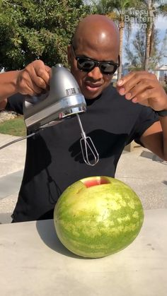 "TIPSY BARTENDER 🍻🍹 on Instagram: ""Grab your tools! Drink your booze directly from the watermelon 🔥🔥🔥"" Tipsy Bartender, Mixed Drinks, Watermelon, How To Look Better, Tools, Instagram, Instruments"