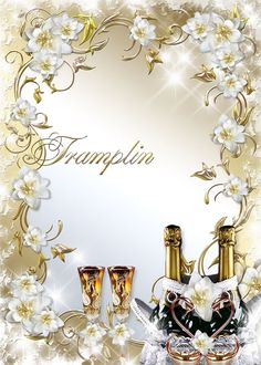 wedding frame by trampling tarsi