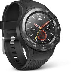 Huawei Watch 2 smartwatch (Bluetooth, WiFi, 4G) negro por 299 €  Con la conectividad 4G independiente tendrás la libertad de salir sin el teléfono cuando quieras. Déjate guiar y motivarte con la función de entrenador personal.   #chollos #compras #moda #tecnologia #primeday