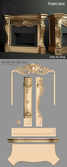 Furniture Guide For Minecraft Royal Furniture, Furniture Legs, Unique Furniture, Luxury Furniture, Furniture Design, Victorian House Plans, Victorian Homes, Cnc Router, Cnc Wood