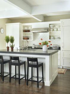 Ikea Kitchen White Caesarstone Design, Pictures, Remodel, Decor and Ideas