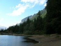 Barclay Lake (4.4mi, 225ft elevation gain) (Central Cascades-Stevens Pass-West)