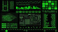 Retro Sci Fi Screensaver.