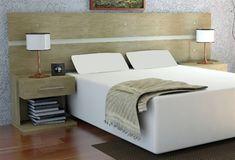 cabeceira cama box madeira