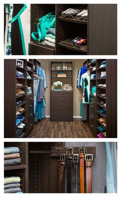 Now you can have the closet you've dreamed of! The NeuSpace storage system offers unique solutions to help you maximize your space with shelves, drawers, rods and even a pull-out mirror. Customize your closet organizer any way you want. Check out our online design tool to see what we mean!