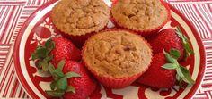 Rise 'N Shine Strawberry-Vanilla Muffins (They're Gluten-Free!)