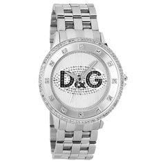 Orologio Watch D&G Dolce & Gabbana Prime Time Logo Nero 46 mm DW0131
