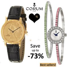 Corum Luxury Watches -73% – Save on Huge Selection‎! | Brands fashion