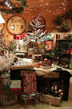 Christmas shopping dream