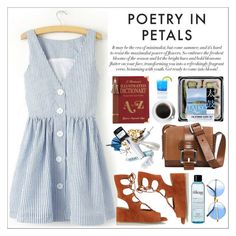 """""""Poetry in petals"""" by teoecar ❤ liked on Polyvore featuring Chloé, Michael Kors, ALDO and philosophy"""