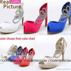 03fe310af7df Rhinestone Crystal Open Peep To Wedding Shoes Gladiator Stiletto Heel Pumps Heels  Women s Prom Party Evening Dress Wedding Bridal Shoes ST02
