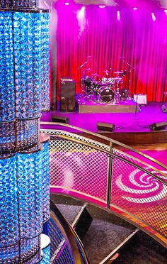 Rock out at the Music Hall. The live music venue onboard Quantum of the Seas features everything from dance classes to improv workshops, DJs and more.
