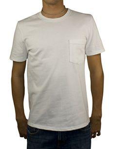 (Modern) Short Sleeve Pocket-T - Heavyweight Jersey $28.00 #MadeinUSA via BuyDirectUSA.com