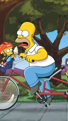 The Simpsons Maggie, Marge, Homer and Bart Simpson Wallpaper Iphone, Cartoon Wallpaper Iphone, Cute Disney Wallpaper, Cute Wallpaper Backgrounds, Cute Wallpapers, Wallpaper Wallpapers, Simpsons Drawings, Simpsons Art, Homer Simpson