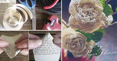 Make a bunch of these paper flowers!