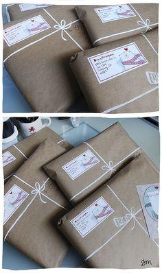 pretty christmas packaging