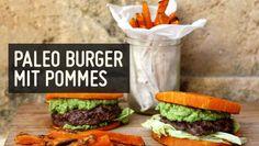 Paleo Burger mit Pommes Frites – Paleo360.de