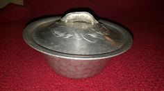 Vintage Covered Vegetable Serving Bowl 1940s by Everlast Forged Aluminum #1038 by TimelessArtLLC on Etsy