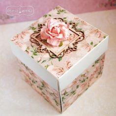 Decoupage, Scrapbook Box, Exploding Boxes, Jewellery Boxes, Wedding Boxes, Vintage Crafts, Decorative Boxes, Paper Boxes, Envelopes