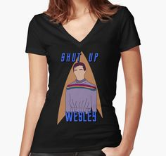 "Wesley Crusher - ""Shut Up Wesley"" - Star Trek the Next Generation by Keighcei"