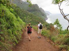 NaPali coast hike, Kauai