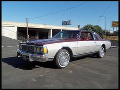 1979 Chevrolet Caprice Classic Aero Coupe