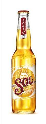 Heineken-owned Sol Lager rebrand by VBAT Beer Packaging, Brand Packaging, Billard Bar, Sol Beer, Beer Of The Month, Mexican Beer, Pizza And Beer, I Need A Beer, Beer 101