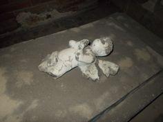 The panteon at night. Broken angel.