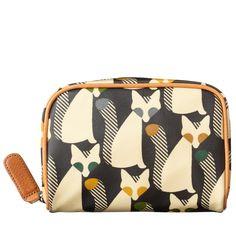 Cute As a Fox Print Cosmetic Bag