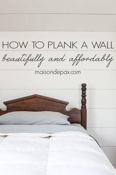 How to Plank a Wall: