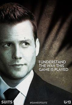 I understand ... #harveyspecter #suitsusa #gabrielmacht #suits SUITS USA Network #gameofsuits
