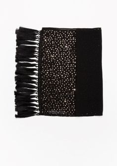 & Other Stories   Stardust Chiffon Scarf