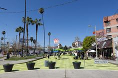 Sunset Triangle Plaza, LA's First Pedestrian Plaza. I love livable cities, this sounds like a good start.