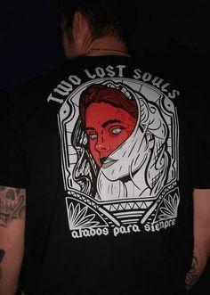 The Artist Jesse Palmer, 2 Lost Souls, Clothing, Accessories, Custom Artwork of all Mediums. Jesse Palmer, Lost Soul, Custom Art, Hoodies, Sweatshirts, Activewear, Tank Tops, Hats, Artist