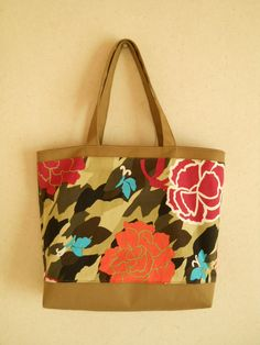 Tote Bag;Flower